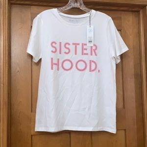 "Draper James ""Sister Hood"" Shirt Small NWT"
